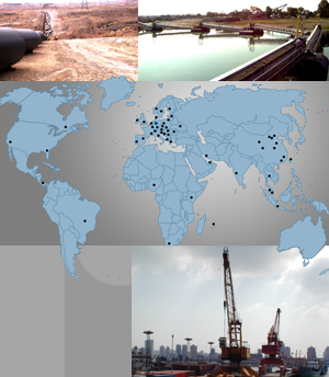 hydraulic-projects worldwide: retrofitting, build-up, training, startup operations